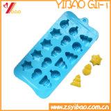 Moulage de chocolat de silicones de moulage de gâteau de silicones de forme d'arbres de Noël/moulage glace de silicones