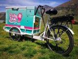 Chariot de collant Animal-Dessiné par vente de rue de prix usine pour vendre la glace
