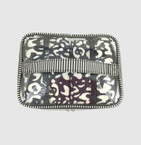 PVC& de nylon Handtas van de Make-up van Reeksen voor de Kosmetische Zak van Vrouwen