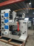 Máquina de impresión Flexo con cuatro de la función troquelado