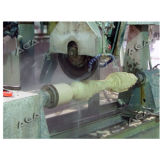 切断の回転式大理石の花こう岩のためのコラムの石造り機械