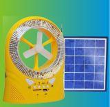 Вентилятор таблицы DC перезаряжаемые солнечный