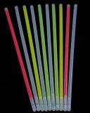 Braccialetto variopinto del bastone di incandescenza di vendita calda 2017 nello scuro