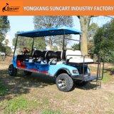 Электрические тележки гольфа, 8 Seater, с задним местом Flop Flip, Ry-Ez-801A, 6+2 миниая Sightseeing шина, электрическая тележка в авиапорте