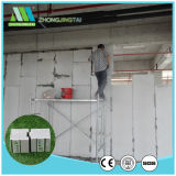 Painel de parede sanduíche de cimento sanduíche de cálcio de 90 mm para paredes interiores e exteriores