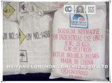 Het Nitraat van het Natrium van Nitraat van het natrium/99%