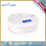 Het draagbare Alarm van de Koolmonoxide van het Huis Met LCD Vertoning