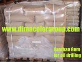 Goma del xantano usada en industria de petróleo