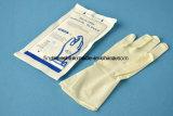 Перчатка свободно устранимого медицинского стерильного латекса силы хирургическая