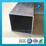 Perfil de aluminio modificado para requisitos particulares anodizado de la protuberancia del tubo del cuadrado del rectángulo