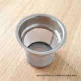 Usine de tamis de thé de l'acier inoxydable de bonne qualité et 304 des meilleurs prix pour la cuvette de thé en verre