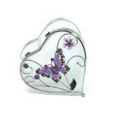Comercio al por mayor Joyas de vidrio artesanales de decoración de verificación (HX-6378)