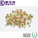 UV schittert Metaal van de Juwelen van de manier Parel van het Staal van de Bal 316L de Chirurgische voor Ring