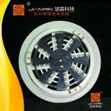 Решетка пола горячего сбывания алюминиевая круглая с пластичным воздушным демпфером