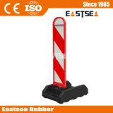 Negro Base ABS Camino de Plástico Recuperación Elástica del Panel Vertical del Delineador