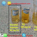 경구 Pre-Finished 스테로이드 기름 Dbol 50mg/Ml Methandrostenolone Dianabol