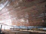 Los paneles de madera de color aluminio compuesto