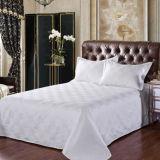 Хлопка жаккарда постельное белье 100% для комплекта постельных принадлежностей тканья гостиницы