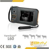 De Hete Verkoop van Farmscan L60 en de Goedkope Scanner van de Ultrasone klank van de Prijs Handbediende