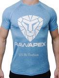 La chemise faite sur commande de circuit de sublimation folâtre le T-shirt d'hommes