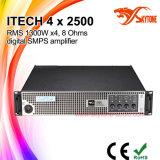 私技術4X2500デジタルの専門の高い発電のアンプ、オーディオ・アンプ