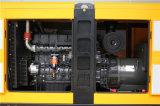 고품질 88kVA Sdec 침묵하는 디젤 엔진 발전기