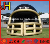 スポーツのゲームのための膨脹可能なフットボール用ヘルメットのトンネル