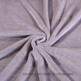 Flanela de poliéster macio quente cobertor de lã