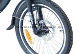 Un gran poder de la ciudad de rápido paso bajo bicicleta eléctrica plegable
