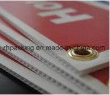 Matrijs Vier van het Knipsel van Correx Coroplast van Corflute Oogjes op 4mm 5mm met 1 of 2 Kleuren Te hangen