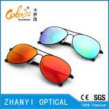 New England Sunglasses de titânio para condução com lente de polaroid (T3026-C2)