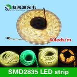 Tira flexível do competidor 60LEDs/M da luz do diodo emissor de luz do preço SMD2835 com IEC/En62471
