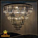Luxury Custom-Made Hotel Lobby lustre de cristal (KA1213-7)