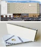 Panneau en aluminium ignifuge de nid d'abeilles pour la façade