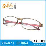 Blocco per grafici di titanio di vetro ottici del monocolo di Eyewear di modo (9205)