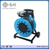 100m Videocamera v8-3288pt-2 van de OnderwaterPut van de Camera van de Inspectie van kabeltelevisie van de Pijp van het Riool van de Kabel