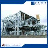 Gráfico prefabricado de la estructura de acero de la fábrica