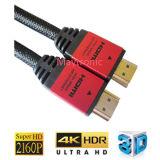 Câble HDMI haute qualité et haute vitesse avec Ethernet, 3D