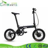 16 인치 소형 폴딩 전기 자전거 또는 숨겨지은 건전지 E 자전거