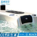 Vasca calda della STAZIONE TERMALE acrilica del mulinello della persona del lusso 6