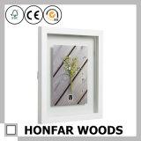 Frame de madeira da foto do retrato da decoração Desktop rústica