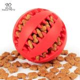 개를 위한 애완 동물 이 청소 장난감 애완 동물 공 음식 공