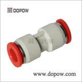 Unión de la PU derecho guarniciones de un tubo del tacto