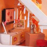 Mini casa llena romántica de la casa de muñeca nueva