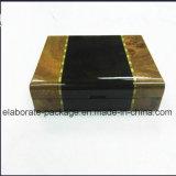 Estilo de la vendimia hecha a mano de madera de gran capacidad de caja de regalo con precio de fábrica