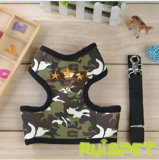 Camoflag Dog Harness Pet Vest