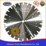 Couteau de coupe d'asphalte diamant 105-600mm pour coupe sèche