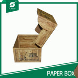 高品質のふた(009を詰める森林)が付いているペーパー荷箱