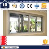 Finestra di vetro scorrevole orizzontale del telaio della lega dell'alluminio/alluminio di disegno