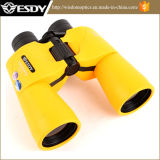 La couleur jaune 10X50 d'Esdy imperméabilisent le télescope de jumelles